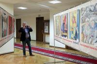 В Госдуме показали историю России в рисунках школьников