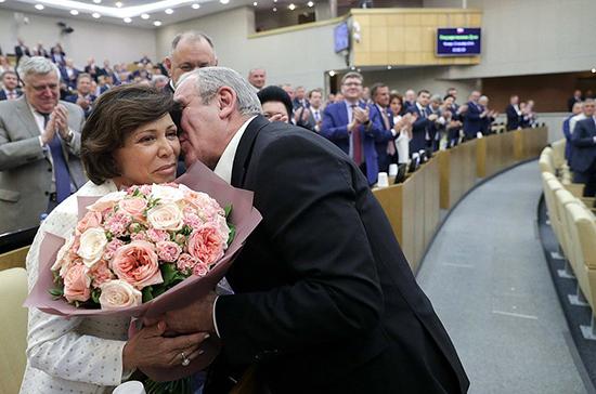 В Госдуме поздравили Ирину Роднину с юбилеем