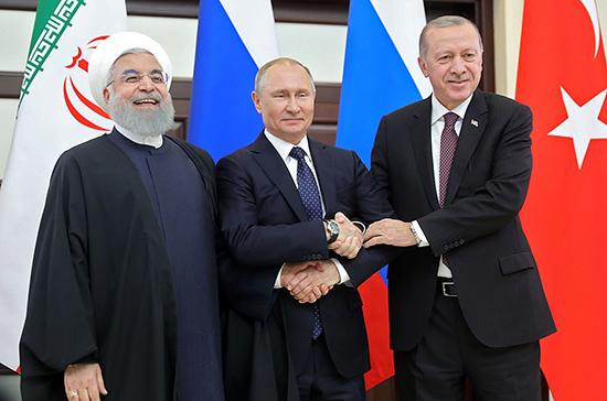 Путин 16 сентября в Анкаре проведёт отдельные встречи с Роухани и Эрдоганом