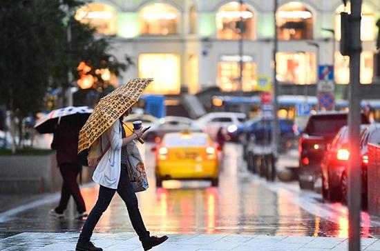 В Москве объявлен жёлтый уровень погодной опасности
