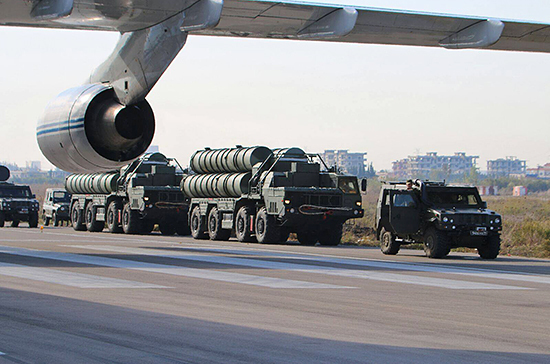 В Минобороны России подтвердили завершение второго этапа поставок С-400 в Турцию