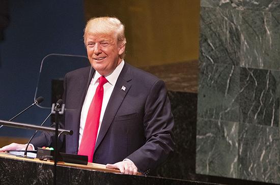 Трамп объяснил «оранжевый» цвет своего лица