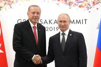 В Кремле не исключили, что Путин и Эрдоган обсудят атаки на саудовские нефтяные объекты