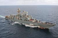 Российские моряки впервые провели задержание корабля в Арктике