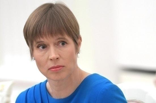 Встреча Путина и Кальюлайд усилила позиции Таллина, заявила президент Эстонии