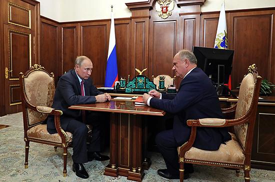 Путин предложил «отремонтировать» выборную систему