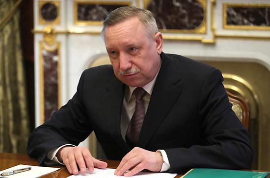 Александр Беглов вступил в должность губернатора Санкт-Петербурга