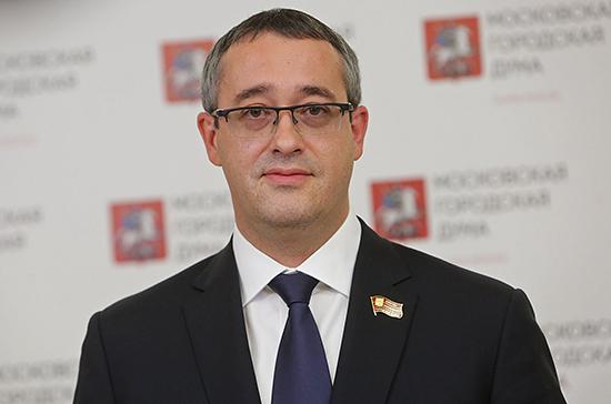 «Единая Россия» выдвинула Шапошникова на пост председателя Мосгордумы