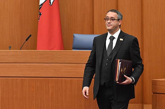 Шапошников избран председателем Мосгордумы