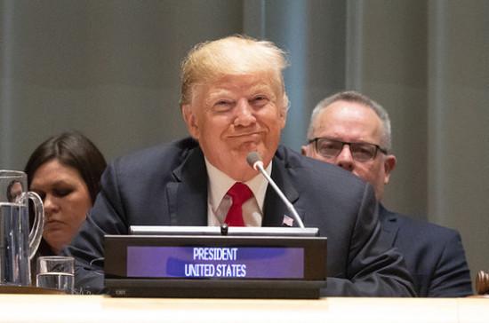 Трамп сообщил о санкциях против Национального банка Ирана
