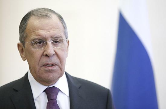 Лавров провел переговоры с генсеком ООН