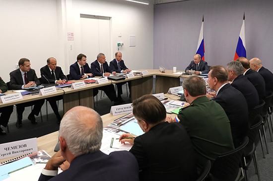 Путин потребовал исправить ошибки при импортозамещении в ОПК