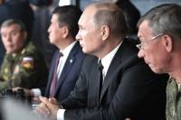 Путин поблагодарил командование стратегических учений «Центр-2019»