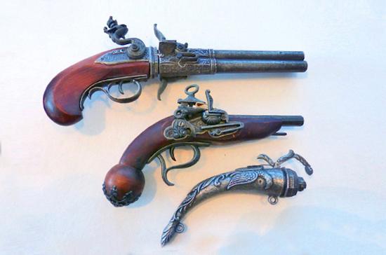 Как признать оружие антикварным