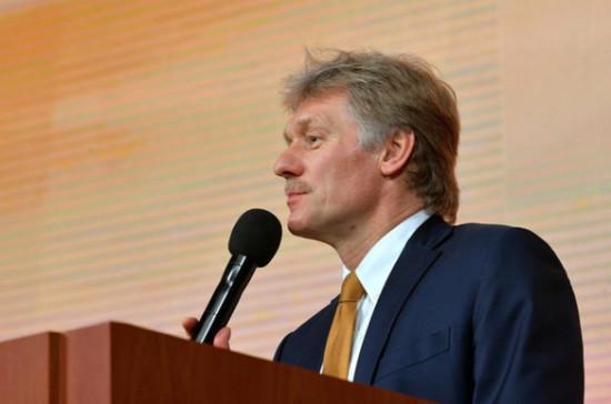 Песков: вопрос о миротворцах в Донбассе должны решать участники конфликта