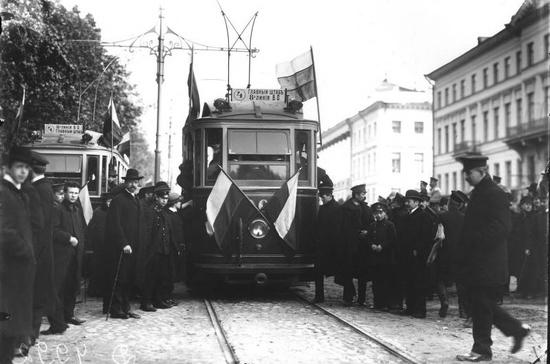 Петербургскому трамваю исполнилось 112 лет