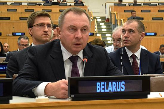 Глава МИД Белоруссии считает разработку общего с Россией налогового кодекса политической целью