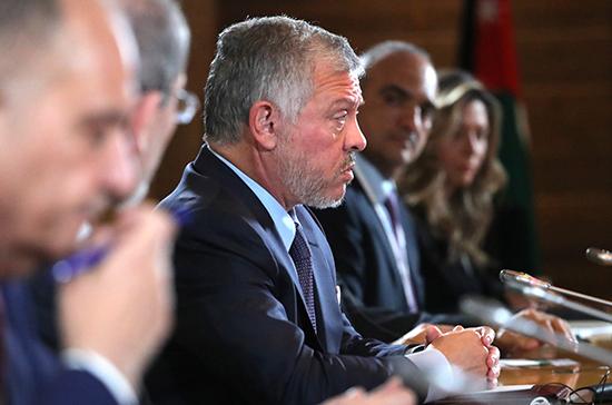 Король Иордании поддерживает присутствие России на Ближнем Востоке