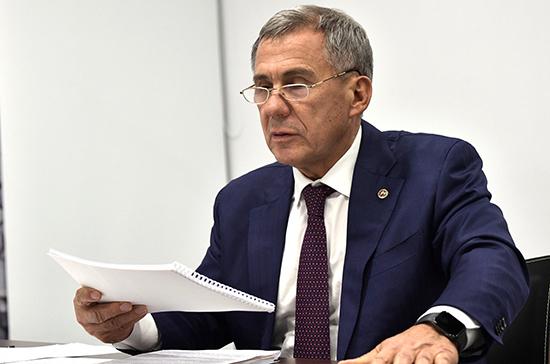 Минниханов предложил создать министерство туризма