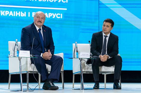 Лукашенко и Зеленский задумались над совместным проведением Олимпийских игр