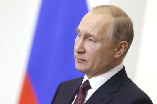Путин поздравил президента Таджикистана с днём рождения