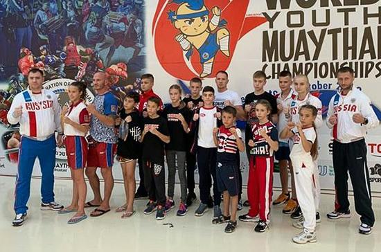 Спортсмены из Подмосковья завоевали шесть золотых медалей на чемпионате мира по тайскому боксу