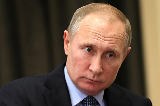 Путин выразил соболезнования в связи со смертью Бушмина