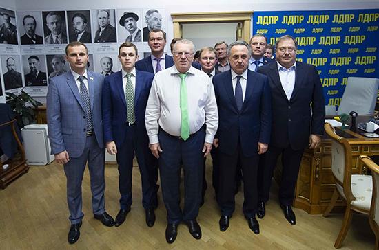 Торощин рассказал о встрече депутатов ЛДПР с вице-премьером Мутко