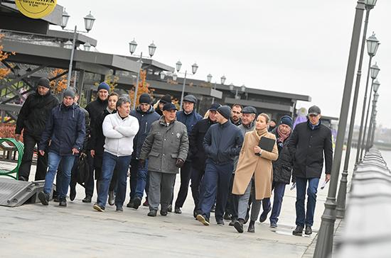 Минниханов ознакомился с ходом строительства первого в Казани экстрим-парка