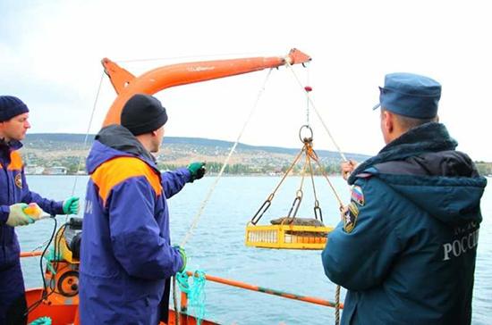 В Крыму с затонувшего в годы войны теплохода «Жан Жорес» подняли 6,5 тысячи боеприпасов