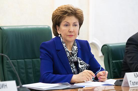 Карелова: «Единая Россия» уделяет большое внимание социальному развитию сельских территорий
