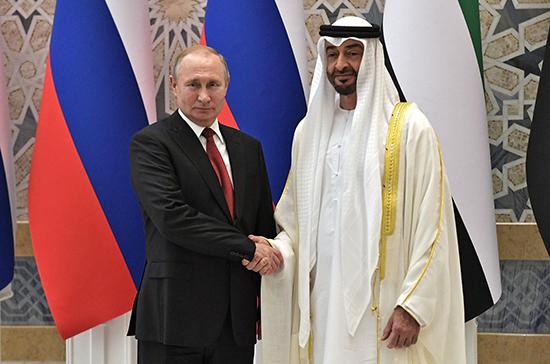 Россия намерена работать с ОАЭ по облегчению визового режима
