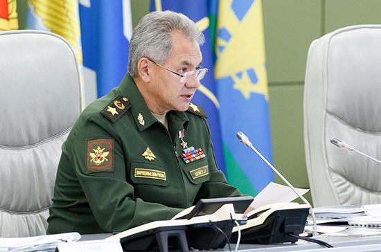 Шойгу обсудил с министром обороны США ситуацию в Сирии