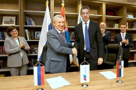 «Единая Россия» и Сербская прогрессивная партия подписали Калининградскую инициативу