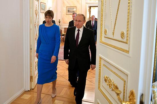 Президент Эстонии пригласила Путина на Всемирный конгресс финно-угорских народов