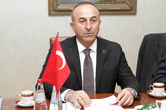 Анкара ответит на санкции Вашингтона, заявил глава МИД Турции