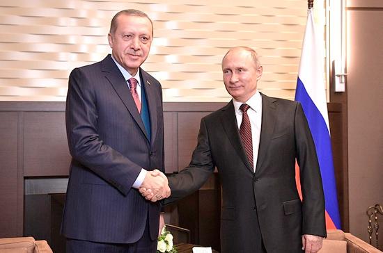 Путин и Эрдоган обсудят в Сочи ситуацию на северо-востоке Сирии, заявил Песков