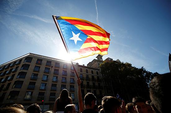 Каталония протестует по-испански