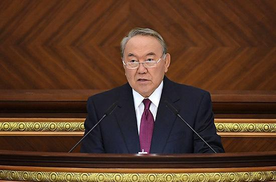 Назарбаев дал поручения правительству и правящей партии по подготовке к выборам