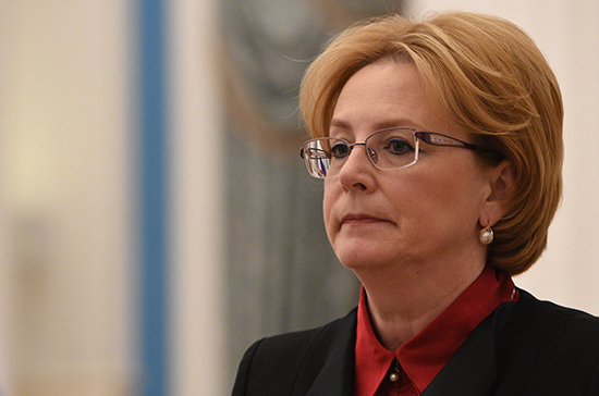 Скворцова рассказала о количестве ежегодных обращений россиян за первичной медпомощью