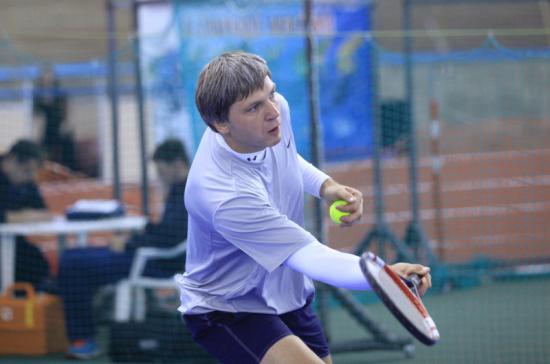 Белорусский депутат победил в турнире по теннису на X Международных парламентских играх