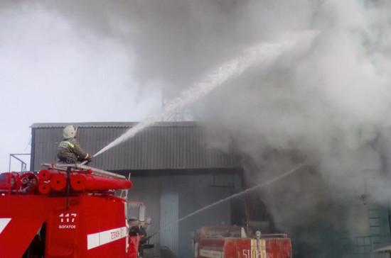 Кемеровские депутаты внесли законопроект о пожарной сигнализации в ТЦ