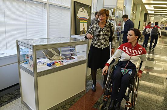 Выставку паралимпийского спорта открыли в Госдуме