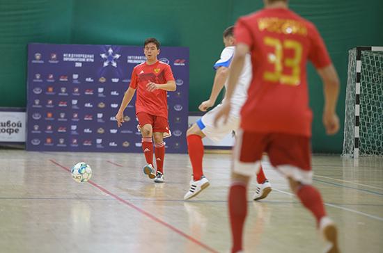 Депутаты Госдумы одержали победу в мини-футболе на Х Парламентских играх