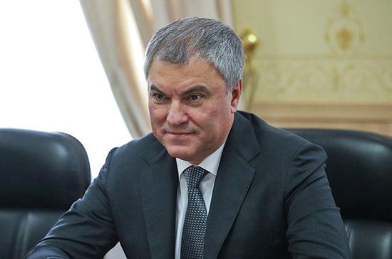 Володин: общая история является мощным фактором развития отношений с Таджикистаном