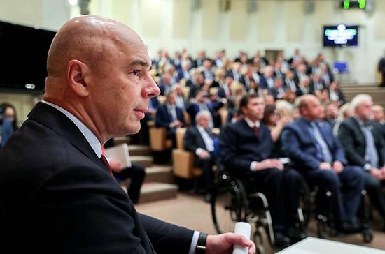 Силуанов рассказал, когда разработают поправки об ускорении поступления средств в бюджеты регионов