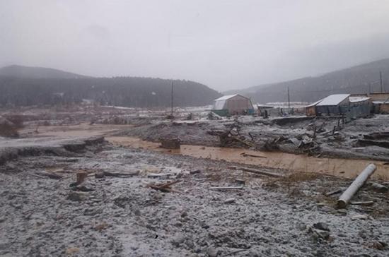 Дело о прорыве дамб в Красноярском крае передано в центральный аппарат СК