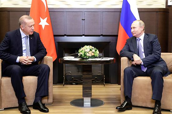 Поставки в Турцию Су-35 и Су-57 не обсуждались на переговорах Путина и Эрдогана