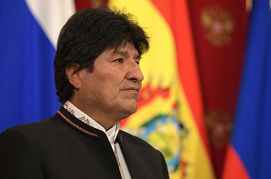 Президент Боливии заявил о попытке государственного переворота