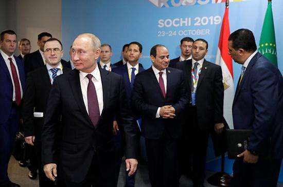 Эксперт назвал важный шаг проведения саммита «Россия — Африка»